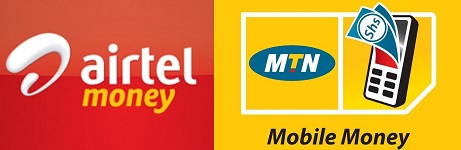 By Mobile Money
